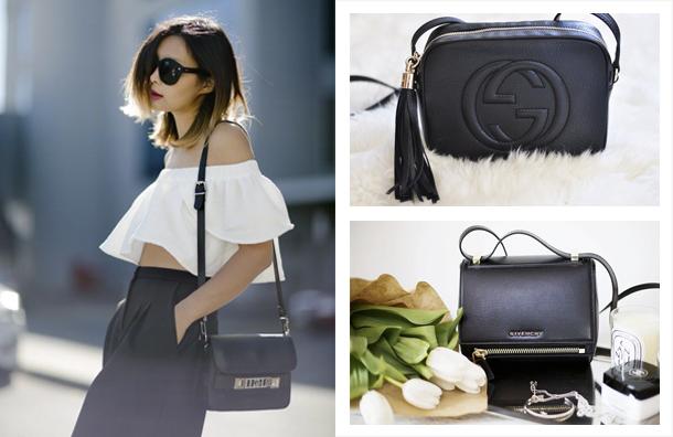 black mini bags